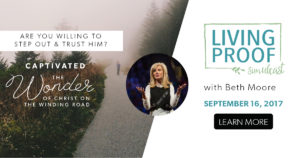LIVING PROOF SIMULCAST A global Bible-teaching event with Beth Moore @ College Church of the Nazarene