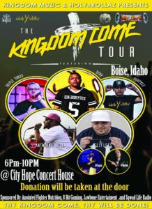 THE KINGDOM COME TOUR feat. 5ive, Thriple Thr33, Purpxse, Antwoine Hill, more @ CityHope Concert House