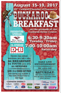 Buckaroo Breakfast @ Caldwell Event Center