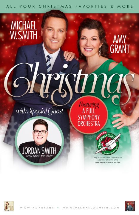 IN CONCERT: Amy Grant, Michael W. Smith, and Jordan Smith