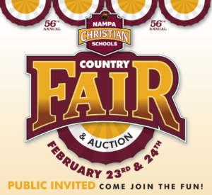 Nampa Christian Schools 56th Annual Country Fair and Auction @ Nampa Christian Schools - Orchard Campus | Nampa | Idaho | United States